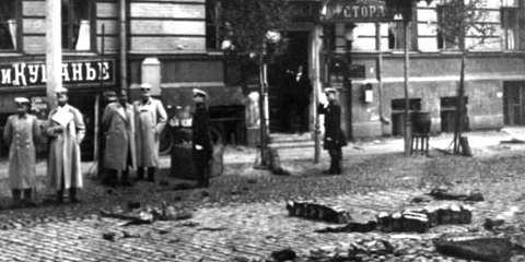 Assassination of Von Plehve by Egor Sazonov