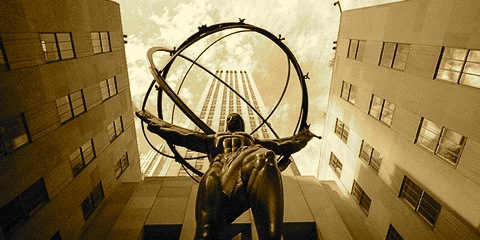 Atlas Shrugged, Rockefeller Center