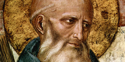St. Benedict of Nursia, by Fra Angelico