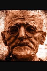 James Joyce, from a photo by Steve-H