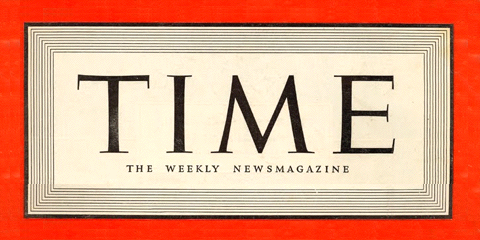 TIME magazine logo circa 1939