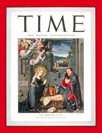 TIME cover December 24 1945 - Christmas 1945