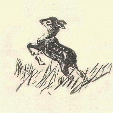 Bambi Leaping by Kurt Wiese circa 1928