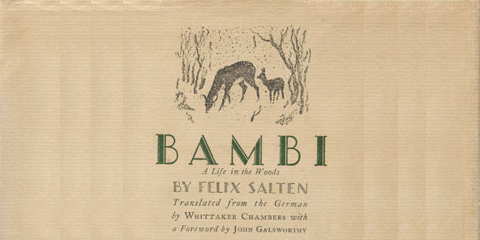 Bambi translated by Whittaker Chambers 1928