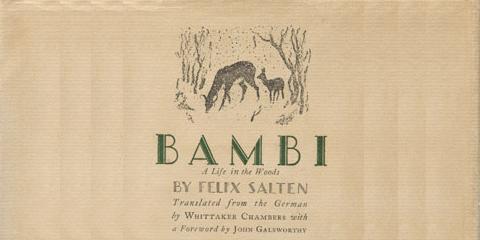 Bambi translated by Whittaker Chambers 1928