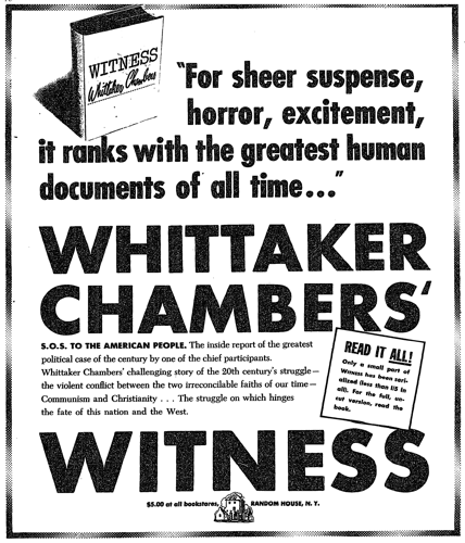 Ad for Witness 1952