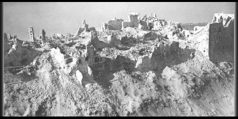 Monte Cassino 1944 ground view