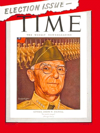 cover of TIME magazine in November 13 1944
