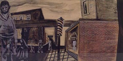 Scottboro Boys by Hideo Noda circa 1933-1934