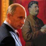 Putin and Stalin